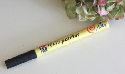 Textil painter zum malen auf Stoff