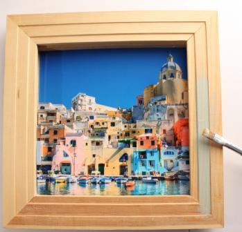Acrylfarbe Rahmen