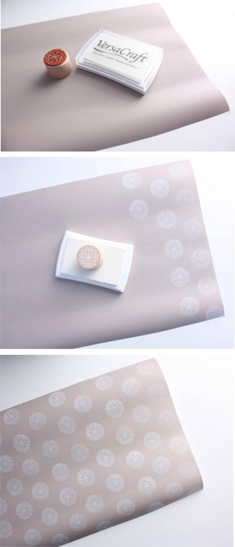 Geschenkpapier Ornamente
