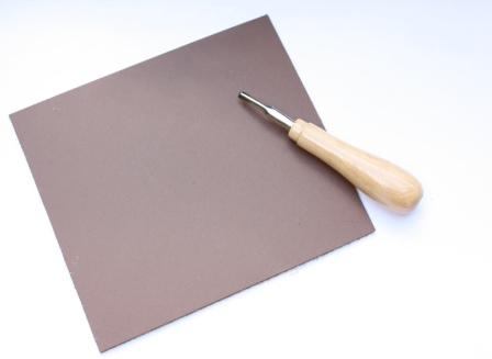Linolschnittplatte