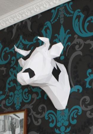 3D Kuh Flecken