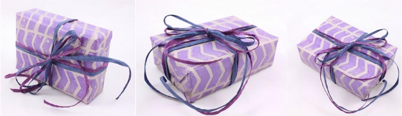 chevron geschenkpapier
