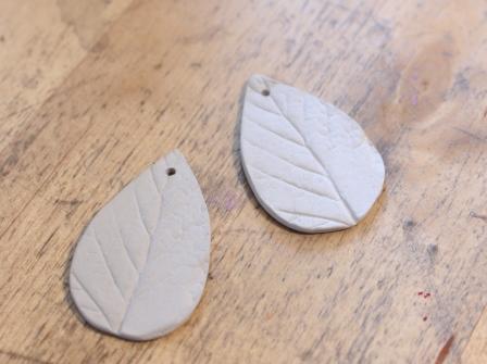 Silver Clay Blattrohlinge
