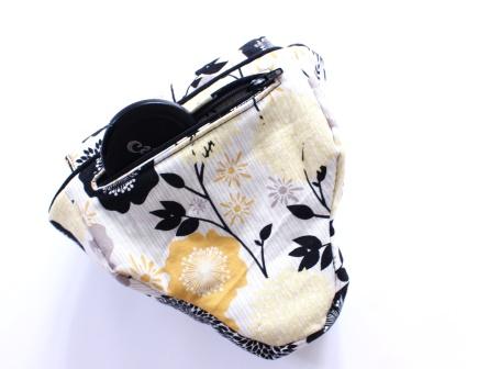 rückseitige Tasche mit Reißverschluss