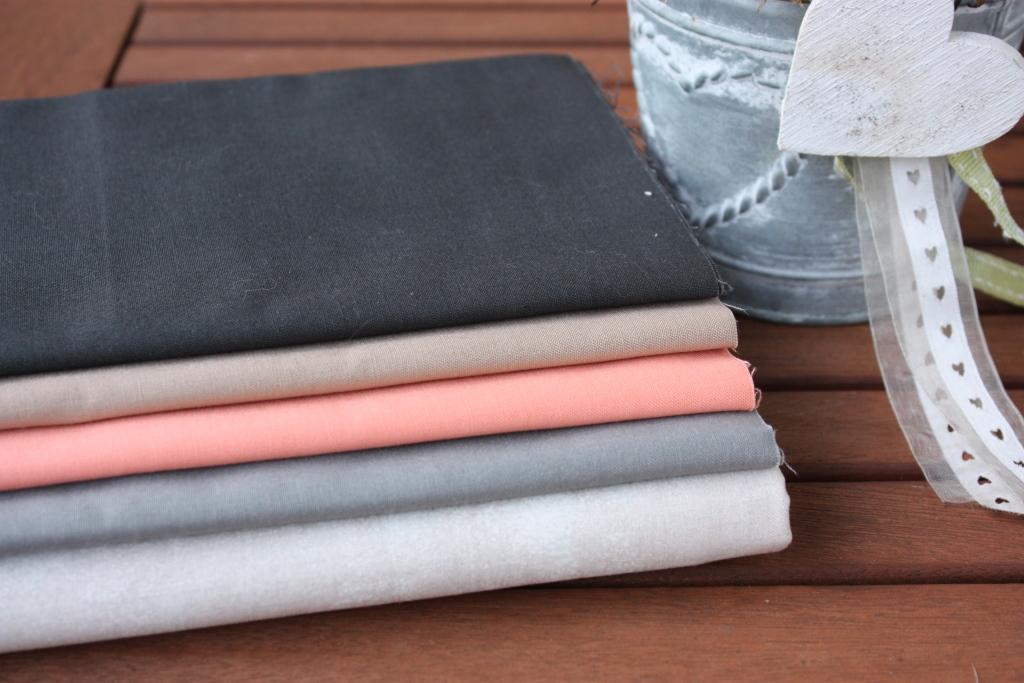 Meine Stoffwahl für Quilt und Kissen