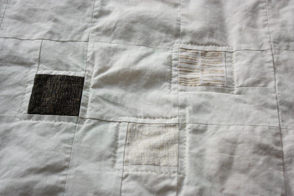 Handgequiltet um 2.5 Inch Quadrate