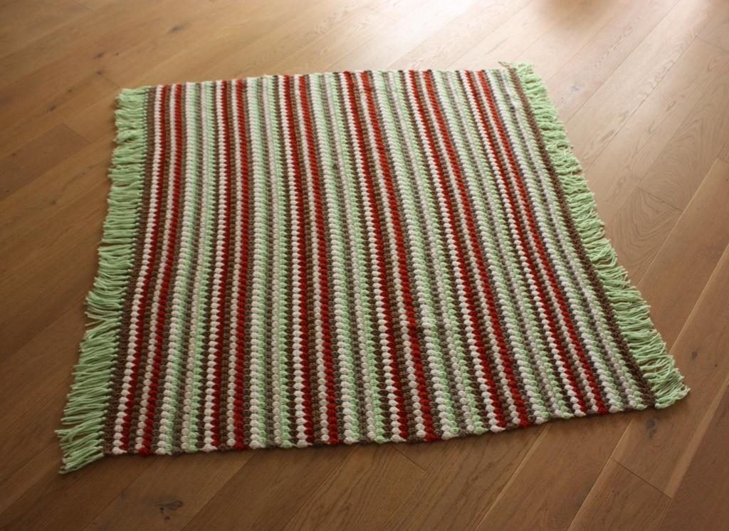 Das wird das Jahr der Decken - heute Häkeldecke - rundherum