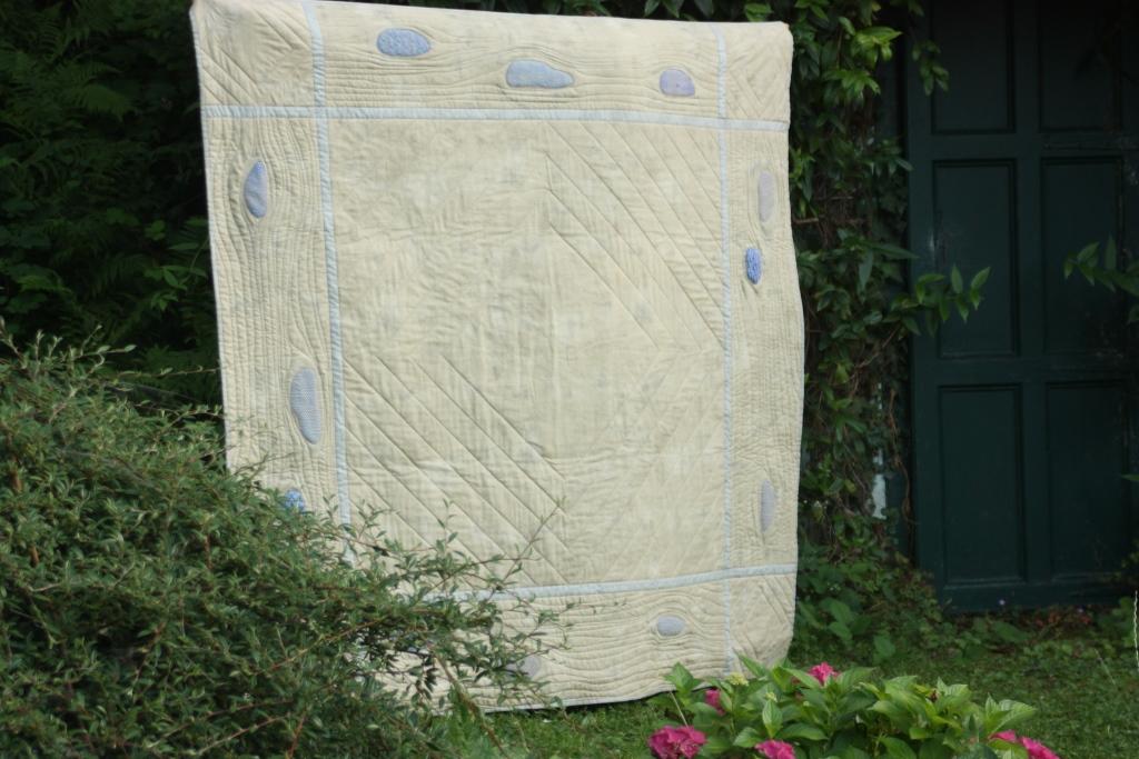 Übersicht gewebter Quilt