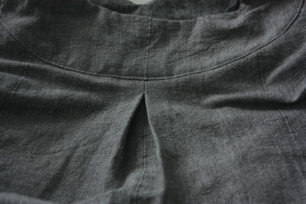 Rückenfalte