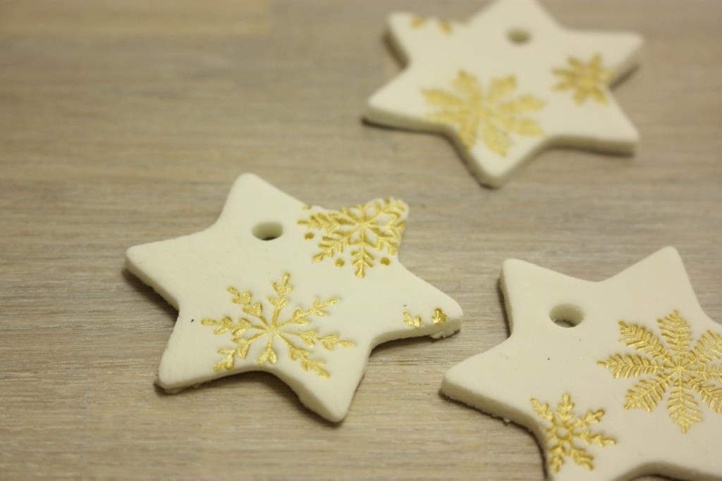Teig-Sterne