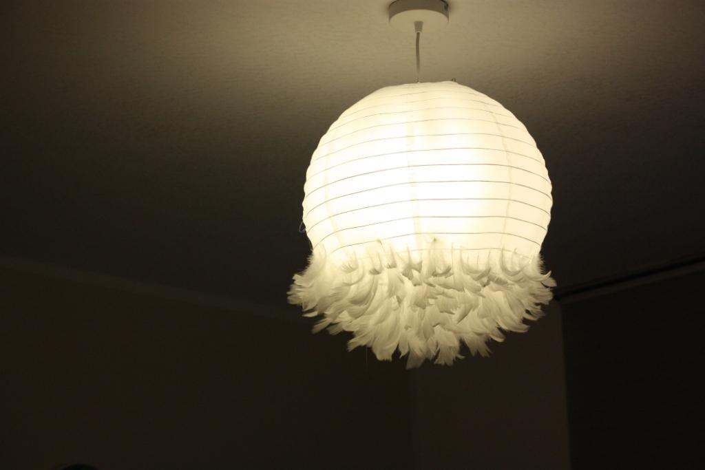 Federnlampe nach Tag 1