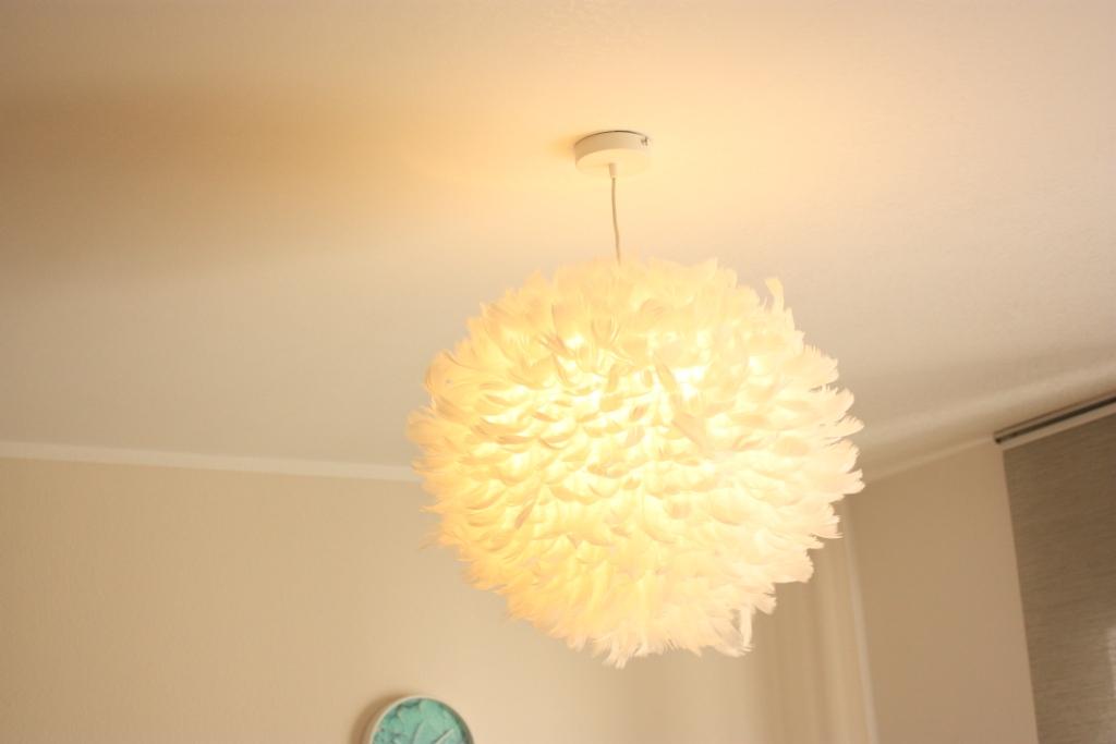 fertige Federnlampe
